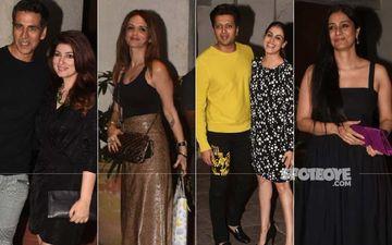 Goldie Behl Birthday: Akshay Kumar-Twinkle Khanna, Sussanne Khan, Riteish Deshmukh-Genelia-D'Souza, Tabu Attend