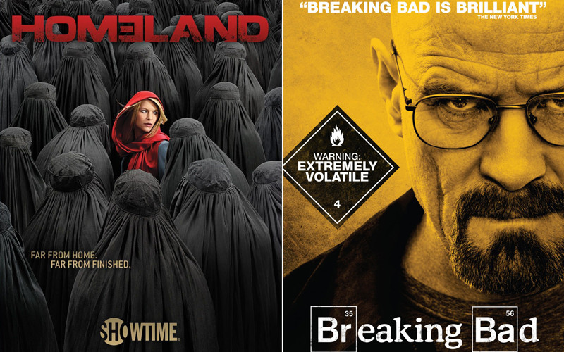 Posters Of Homeland Breaking Bad