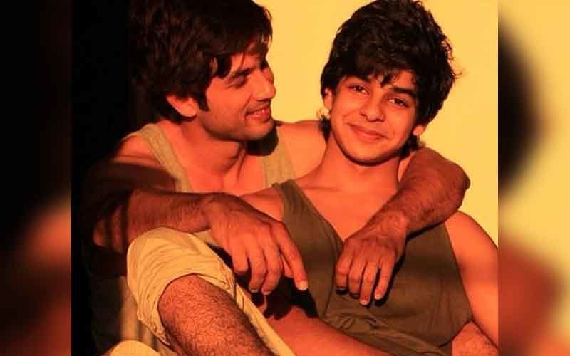 Shahid Grooms His Brother Ishaan For Bollywood