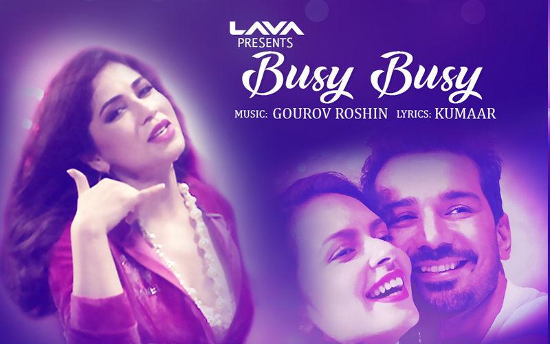 Busy Busy हुआ रिलीज़: SpotlampE.com  के इस गाने में नेहा पांडे आपका मूड रोमांटिक कर देंगी.