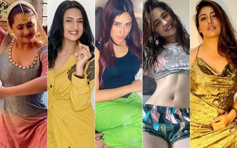 BEST DRESSED & WORST DRESSED Of The Week: Rashami Desai, Divyanka Tripathi, Mahira Sharma, Sanjeeda Shaikh Or Surbhi Chandna?