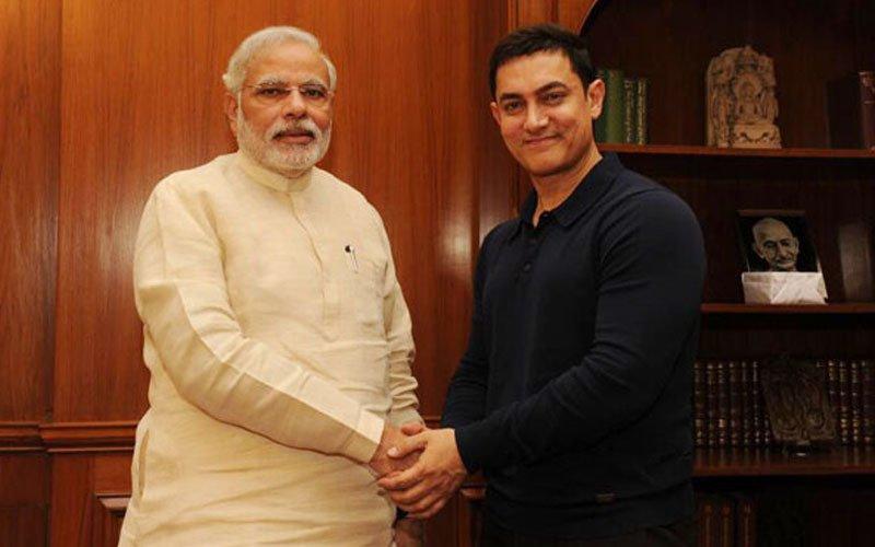 Just In: Aamir Khan meets PM Narendra Modi for dinner