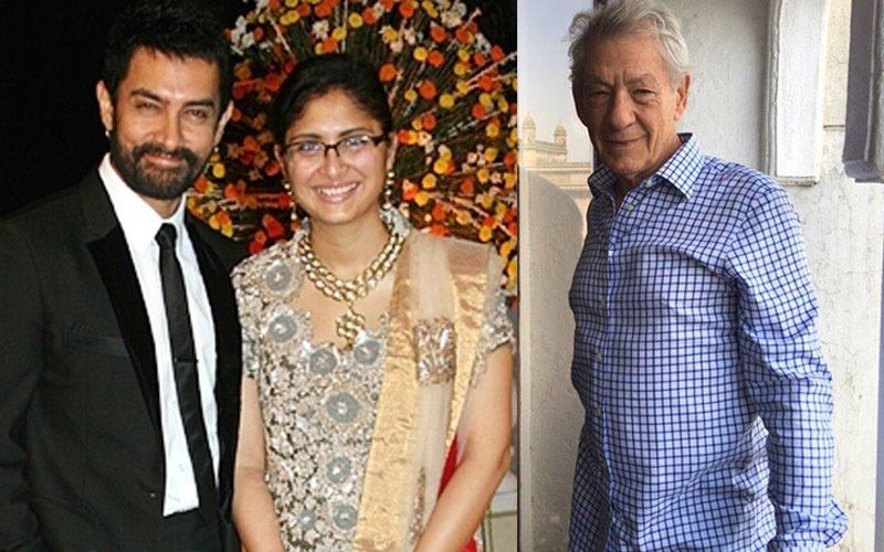 Mrs Aamir Khan to host The Lord of the Rings actor Ian Mckellen today
