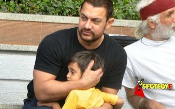 Aamir is Azad's Papa Perfect
