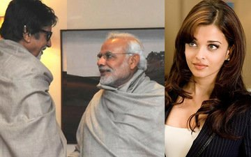 Aishwarya gives the royal ignore to question on Amitabh-Modi connection