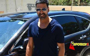 Akshay Kumar's action-filled day in Abu Dhabi