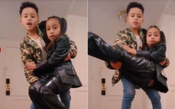 Kim Kardashian's 6-Yr-Old North West Joins TikTok, Does A Mad Jam With Her 'Boyfriend'; One Word – LEGEND