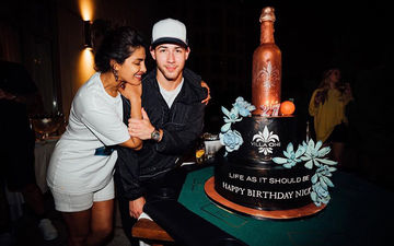 Priyanka Chopra Surprises Nick Jonas With A HUGE Cake That Stole The Show At His Grand Birthday Bash