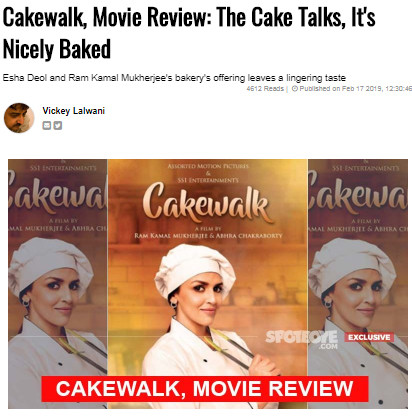cakewalk review