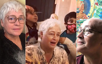 Cancer-Stricken Nafisa Ali Cries As Her Hair Starts Falling; Lets Grandchildren Cut Her Hair