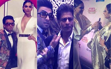 Hello! Hall Of Fame Awards, 2018: Deepika, Ranveer, Shah Rukh & Rekha's Candid Moments