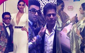 Hello! Hall Of Fame Awards, 2018: Deepika, Ranveer, Shah Rukh & Rekha's Candid Moments