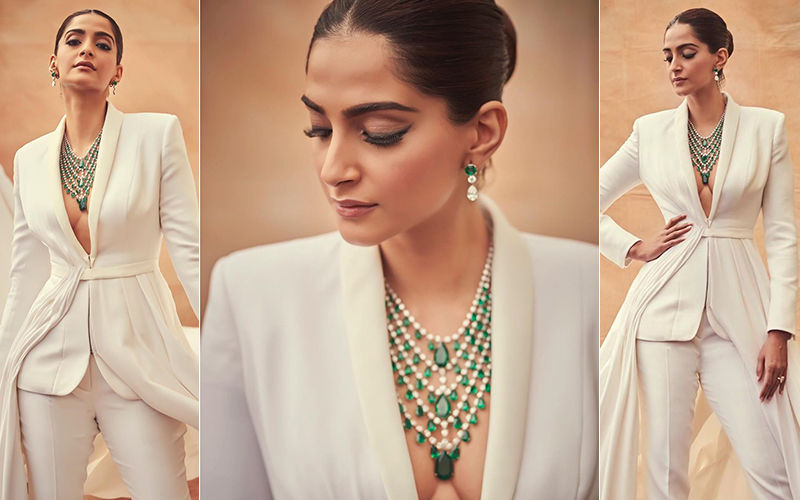 Cannes 2019: Sonam Kapoor Is Ready To Make Heads Turn On The Red Carpet In A White Couture Tuxedo