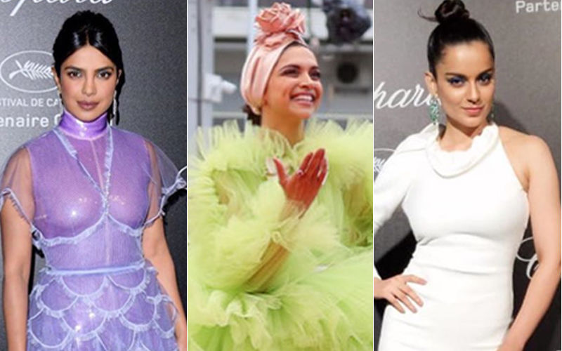 Cannes 2019: Deepika Padukone, Priyanka Chopra Or Kangana Ranaut- Who Rocked It On Day 2?