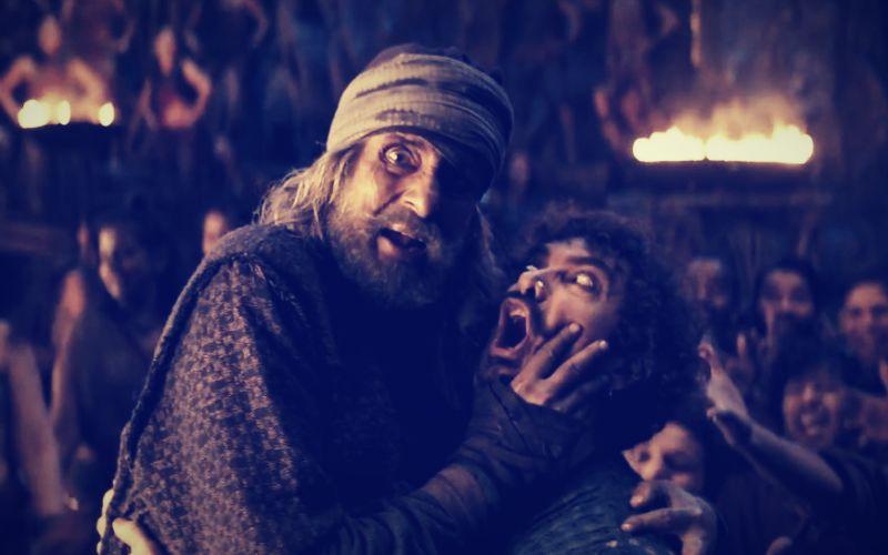 ठग्स ऑफ हिंदोस्तान के पहले गाने 'वाश्मल्ले' में दिखी अमिताभ बच्चन और आमिर खान की दमदार केमिस्ट्री