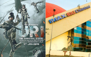 CAUGHT! Piracy Crime In IMAX Wadala, Uri Recorded On Mobile Phones!!