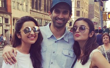 VIDEO: Let's shop says Parineeti, Alia & Aditya in New York!