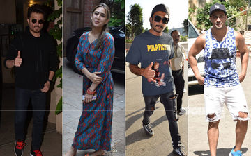 Ranveer Singh Sticks To Casuals At Airport, Malaika-Amrita Arora Twin In Black At The Gym