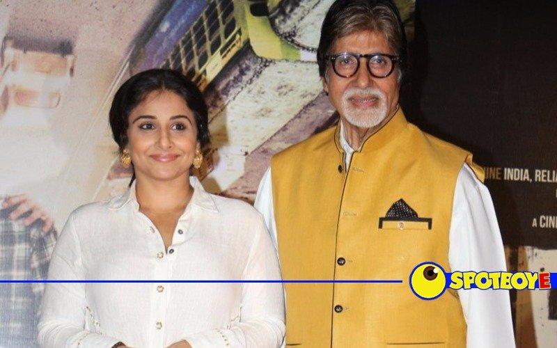 Amitabh Bachchan, Vidya Balan release Te3n trailer