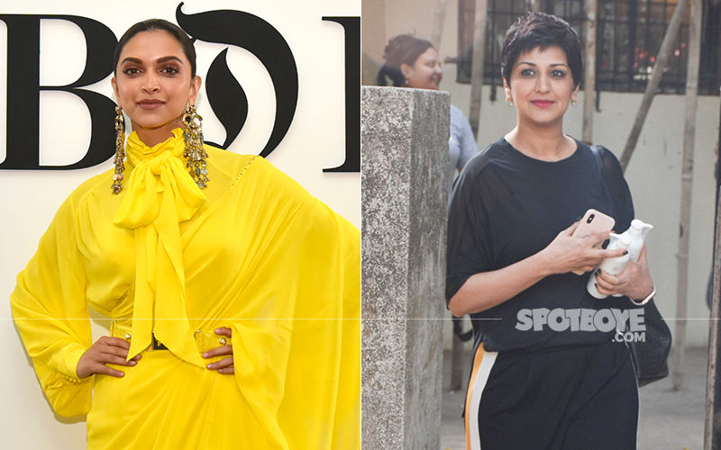 Celeb Spotting: Deepika Padukone Is A Stunner In Her Yellow Dress, While Sonali Bendre Keeps It Casual Post Workout