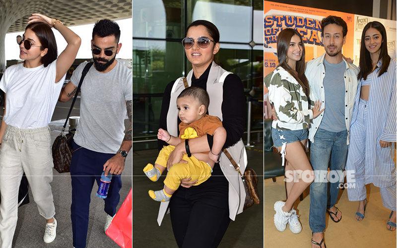 Celeb Spotting: Virushka, Malaika Arora, Sania Mirza, Yami Gautam -Style Is Thy Other Name