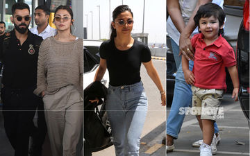 Celeb Spottings: Virushka Papped In Kolkata, Deepika Wraps Delhi Schedule Of Chhapaak, Taimur Clicked Outside Playschool