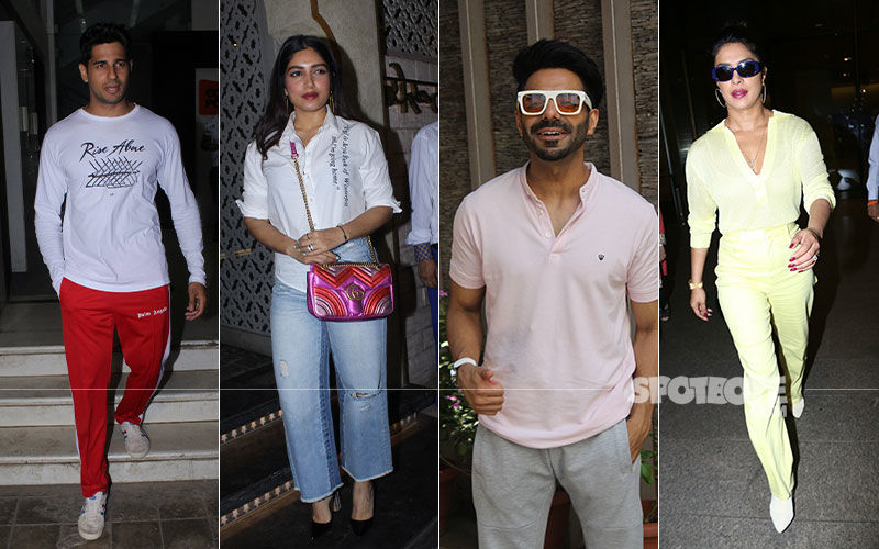 Celeb Spotting: Priyanka, Parineeti, Sid, Bhumi, Dazzle Like Never Before