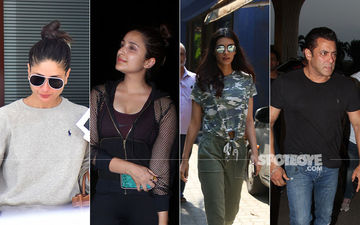 Celeb Spottings: Kareena, Parineeti, Kriti, Salman Paint The Town Red