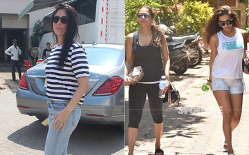 Celeb Spottings: Kareena Kapoor Khan Papped In A Casual Look, Arora Sisters- Malaika And Amrita Rock It In Their Gym Gear