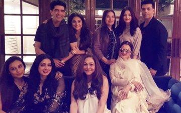 INSIDE PICS: Aishwarya Rai Bachchan, Rekha, Rani Mukerji, Vidya Balan Celebrate Sridevi's Birthday