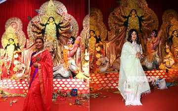 Celebs At Durga Pooja Pandals: Priyanka Chopra And Rani Mukerji Seek Blessings Of Goddess Durga