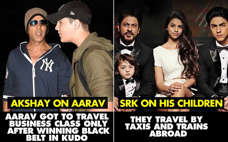 """7 Bollywood Stars Reveal The Lesser Known Side of Their """"Starry"""" Children"""