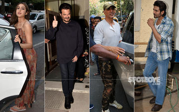 Celeb Spottings: Akshay Kumar's Movie Date With Family, Anil Kapoor's Wedding Anniversary Bash And Much More