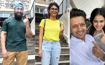 Maharashtra Assembly Elections 2019: Aamir Khan, Kiran Rao, Lara Dutta, Kunal Kohli, Riteish Deshmukh And Genelia D'Souza Cast Their Vote; Urge Their Fans To Do The Same