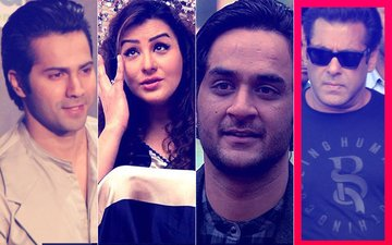 Salman Khan Guilty: Varun Dhawan, Shilpa Shinde & Vikas Gupta Support The Actor