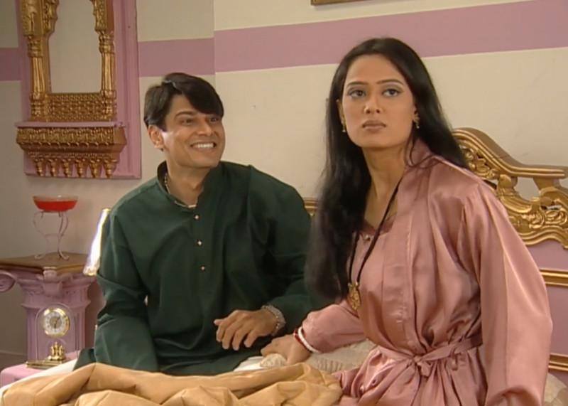 cezzane khan and shweta tiwari in kasauti zindagii kay