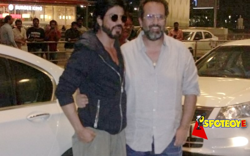 Aanand L Rai drops Shah Rukh at the airport