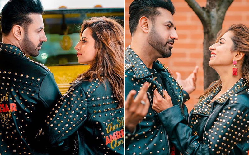 Chandigarh-Amritsar-Chandigarh: Gippy- Sargun's Sizzling Chemistry is Too Hot to Handle- SEE PICS