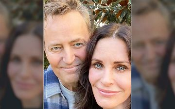 Self-Quarantined Courtney Cox Tries Hands On TikTok For Entertainment; Mathew Perry MOCKS It With A FRIENDS Joke