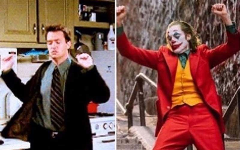 FRIENDS: Matthew Perry Chandler Bing Takes The Credit For Doing The Joker Pose First: 'You're Welcome Joaquin'