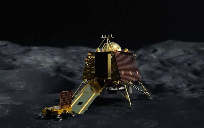 Chandrayaan 2: Lander Vikram Located On Moon's Surface