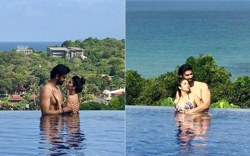 Charu Asopa-Rajeev Sen Get Cosy In The Pool During Their Thai Honeymoon- SEE Pics
