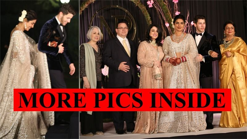 Priyanka Chopra-Nick Jonas' Delhi Reception Family Album Is A Real Treat - Dekho