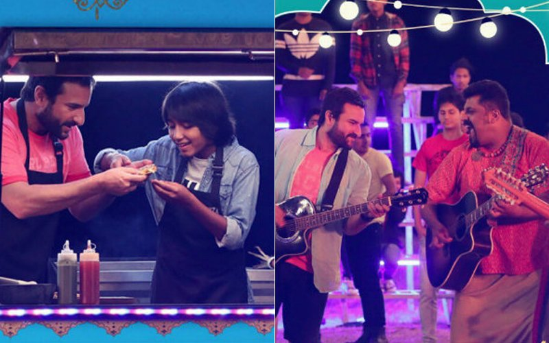 Chef Song Shugal Laga Le: Saif Ali Khan & Raghu Dixit Come Up With A Fun Track
