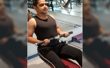 Chinmay Mandlekar Recovers From A Serious Arm Injury And Hits The Gym Right Away