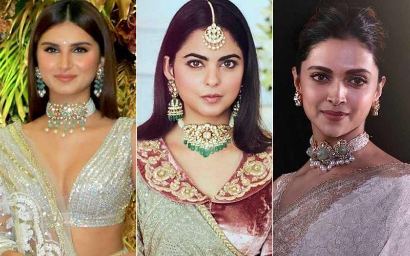Choker Face-Off: Isha Ambani, Tara Sutaria And Deepika Padukone Battle It Out - Whose Look Was An EPIC FAIL?