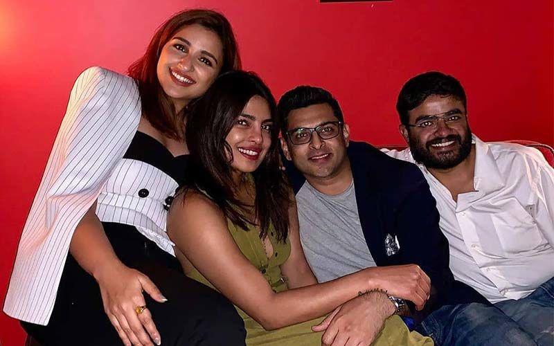 FAM JAM BAM WHAM! Priyanka And Parineeti Chopra Party All Night Long And Then Delete The Photo; We wonder Why!