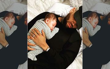 Rihanna's Ex Chris Brown And His Newborn Son Aeko Take A Nap Together In Adorbs Picture Shared By The Doting Dad