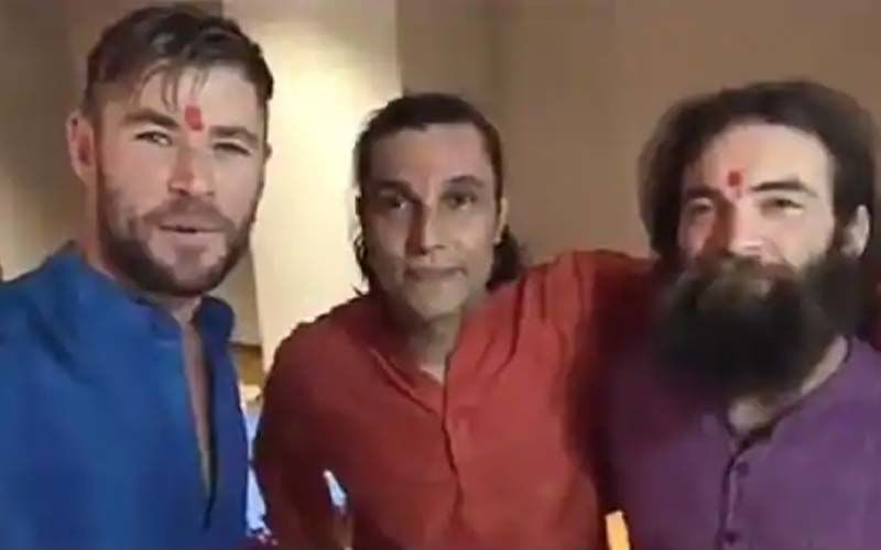 Diwali 2020: When Chris Hemsworth AKA Thor Celebrated With Randeep Hooda, Channeled His Desi Avatar In A Kurta And Red Teeka- WATCH