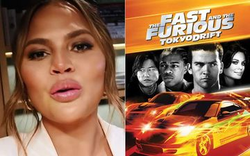 Chrissy Teigen Reveals Her 'B**Bs' Made A Cameo In Fast And Furious: Tokyo Drift; Says 'They Ended Up Cutting Off At My Face'